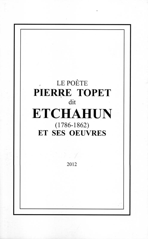 Le poete Pierre Topet